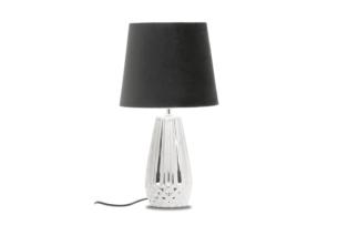 ERANA, https://konsimo.pl/kolekcja/erana/ Lampa stołowa srebrny/czarny - zdjęcie