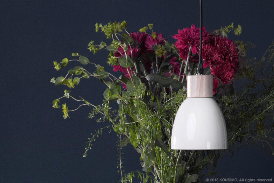 KARI Zestaw lamp wiszących 3 szt. biały - zdjęcie 4