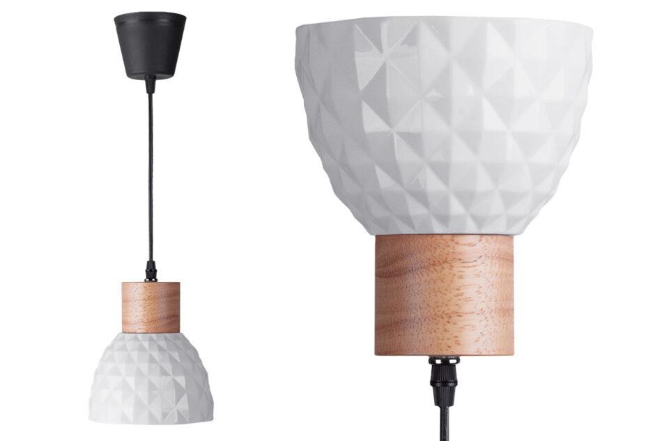 KARI Zestaw lamp wiszących 2 szt. biały - zdjęcie 2