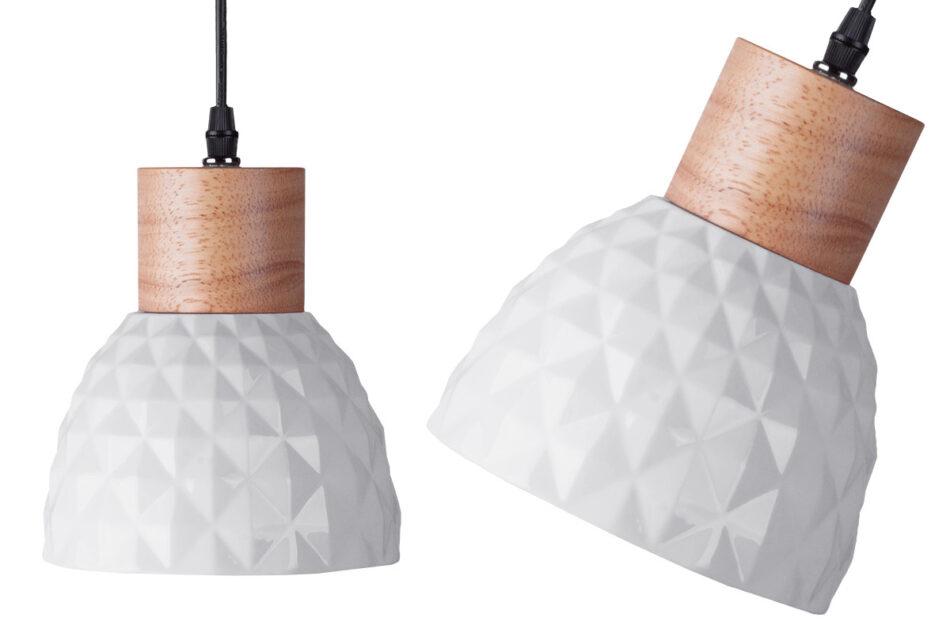 KARI Zestaw lamp wiszących 2 szt. biały - zdjęcie 1