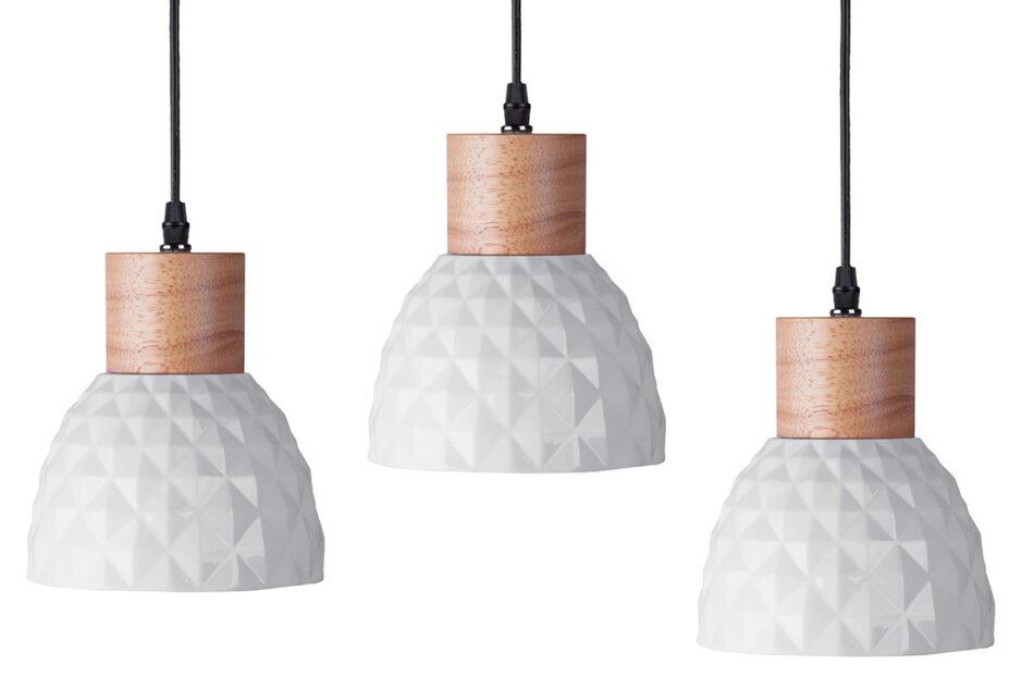 KARI Zestaw lamp wiszących 3 szt. biały - zdjęcie 0