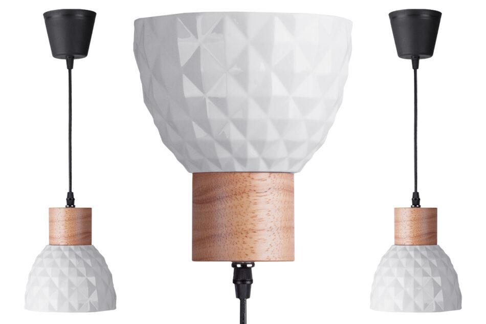 KARI Zestaw lamp wiszących 3 szt. biały - zdjęcie 3