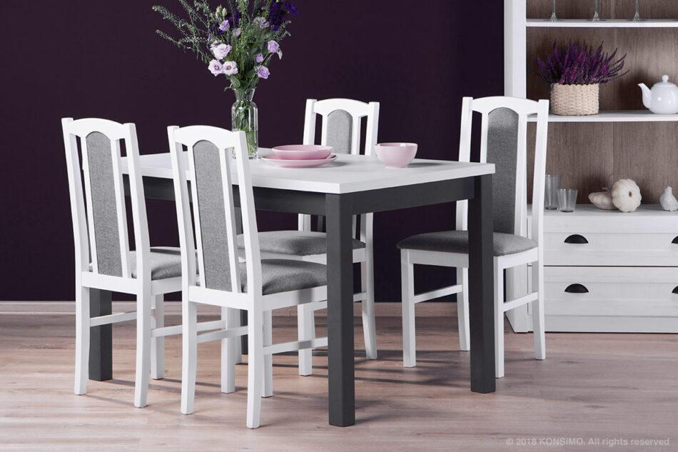 SILVA Stół szary / bialy - zdjęcie 1