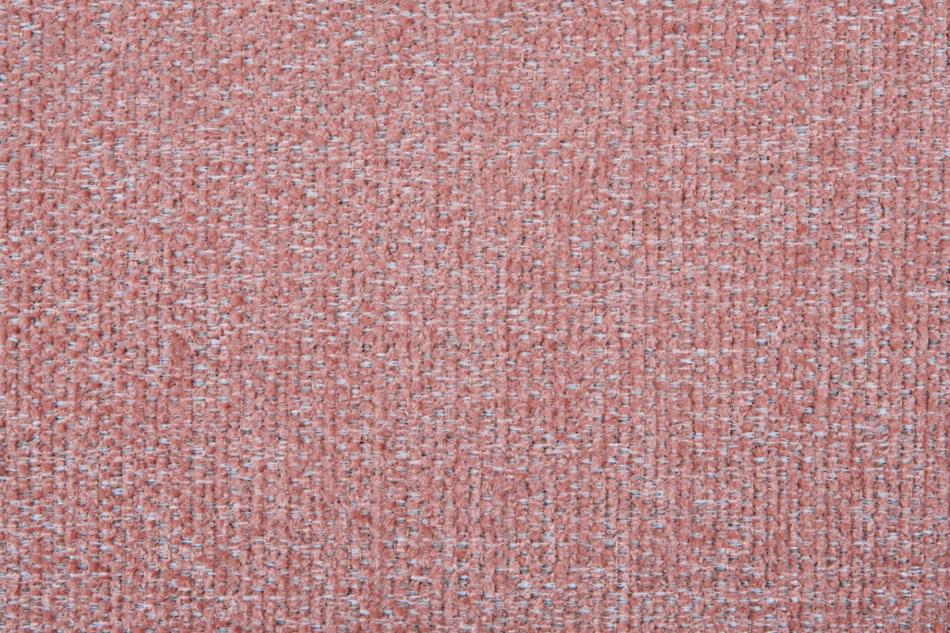 STRALIS Skandynawski puf różowy na nóżkach koralowy - zdjęcie 2