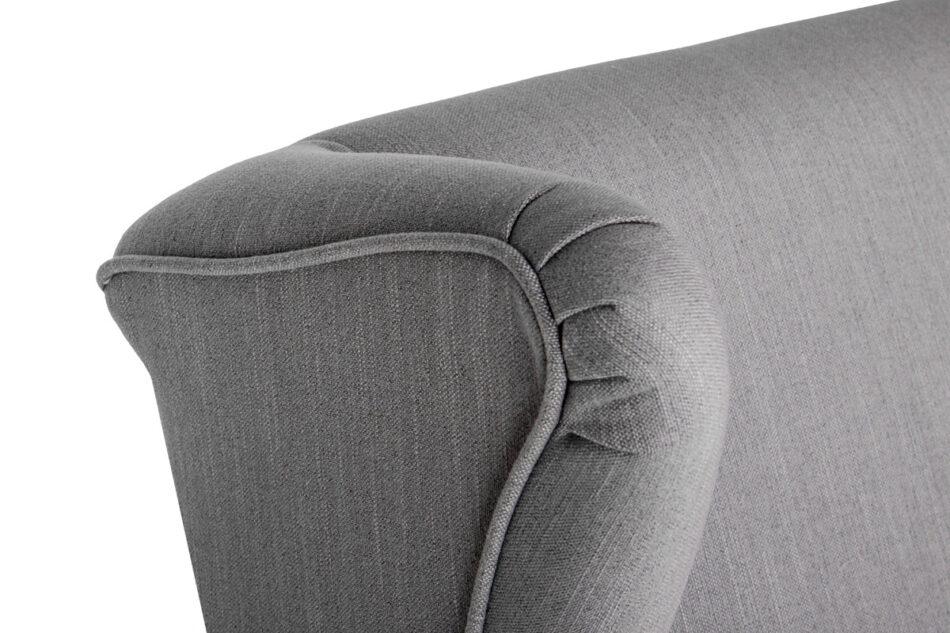 STRALIS Skandynawski fotel szary na nóżkach szary - zdjęcie 8