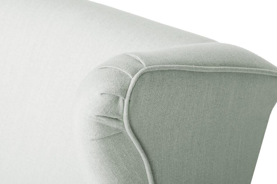 STRALIS Skandynawski fotel zielony na nóżkach miętowy - zdjęcie 8