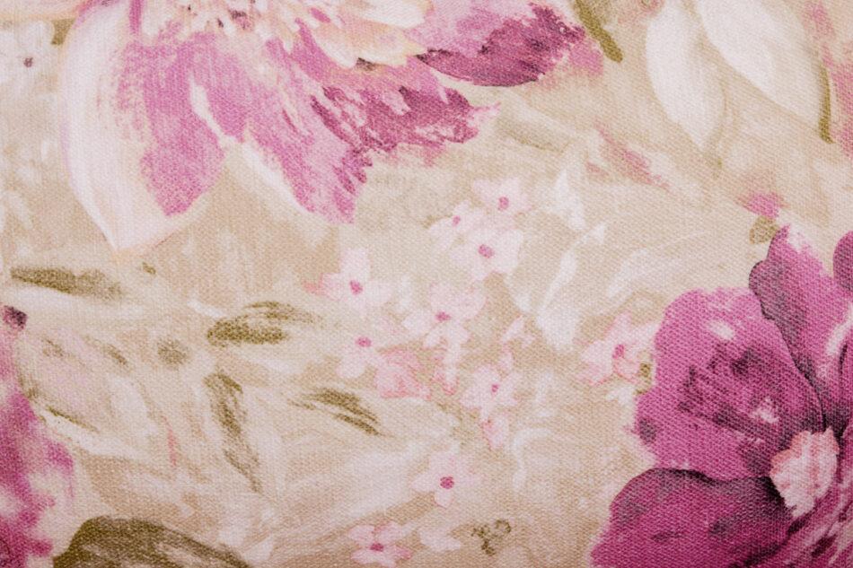 STRALIS Skandynawski fotel pudrowy róż na nóżkach różowy - zdjęcie 6
