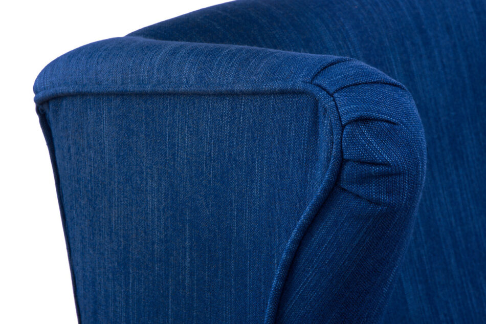 STRALIS Skandynawski fotel granatowy na nóżkach granatowy - zdjęcie 7
