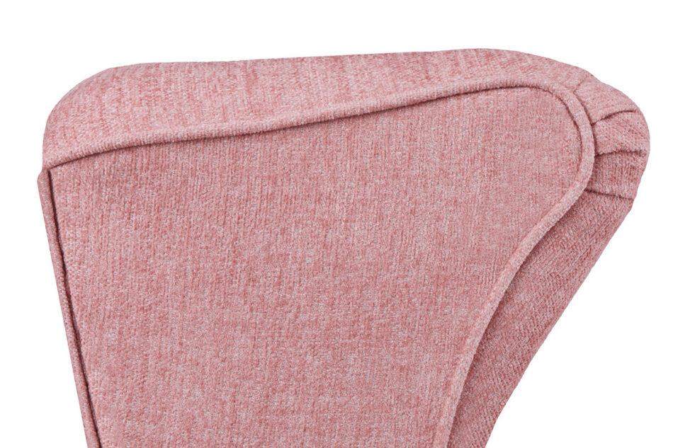 STRALIS Skandynawski fotel różowy na nóżkach koralowy - zdjęcie 6