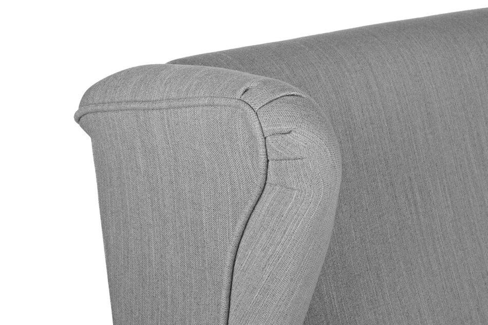 STRALIS Skandynawska sofa dwuosobowa szara na nóżkach szary - zdjęcie 7