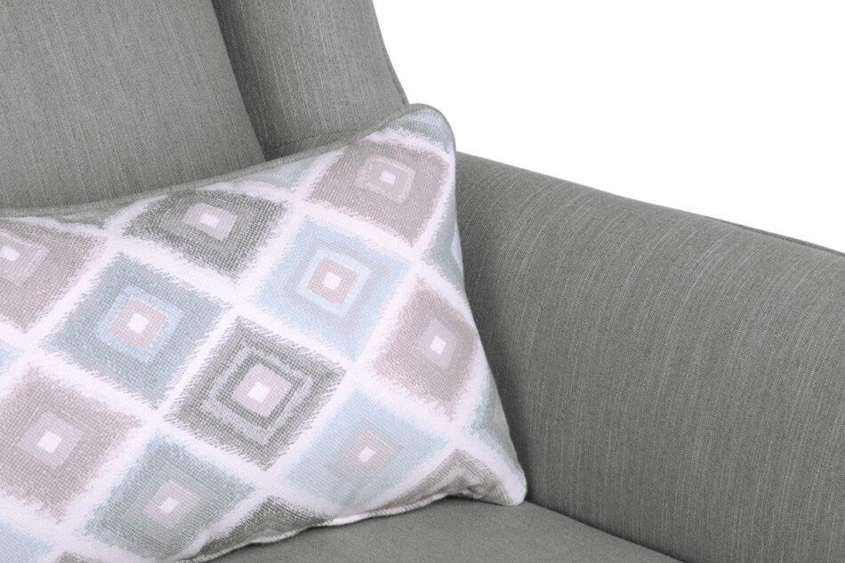 STRALIS Skandynawska sofa dwuosobowa szara na nóżkach szary - zdjęcie 6