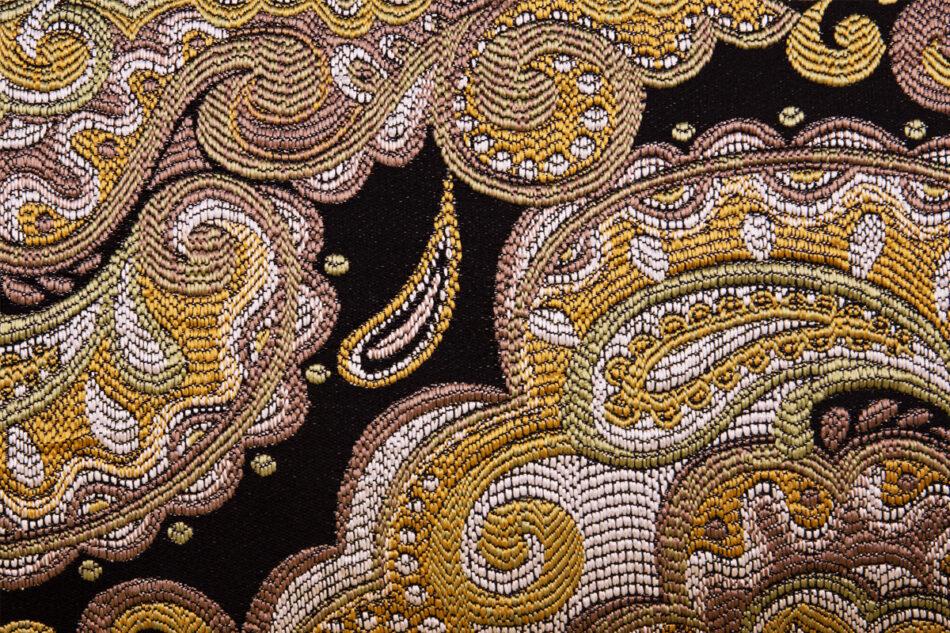 STRALIS Skandynawska sofa dwuosobowa żółta na nóżkach żółty - zdjęcie 9
