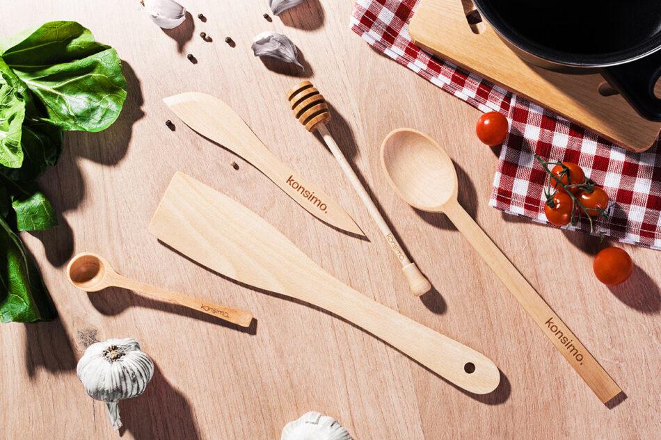 BUTURUM Nożyk do masła brązowy - zdjęcie 1