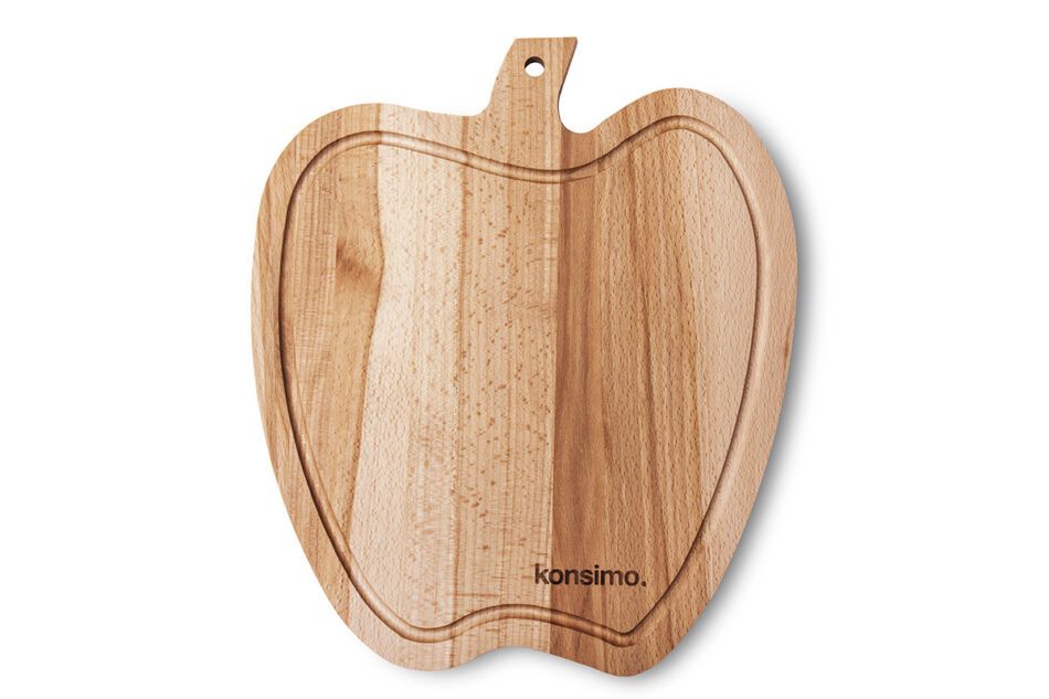 MALUM Deska do krojenia Jabłko brązowy - zdjęcie 0