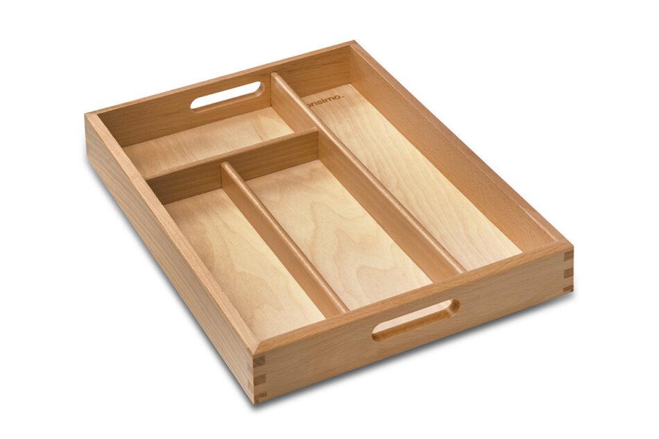 URACIUS Wkład do szuflady na sztućce brązowy - zdjęcie 3