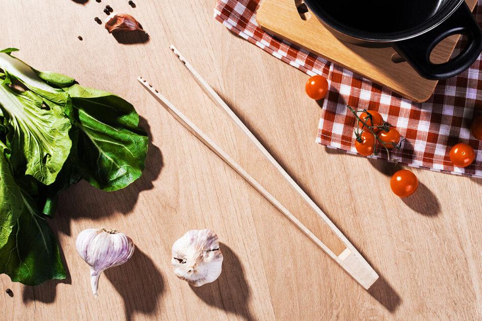 CRATICUM Komplet przyborów kuchennych do grilla brązowy - zdjęcie 7