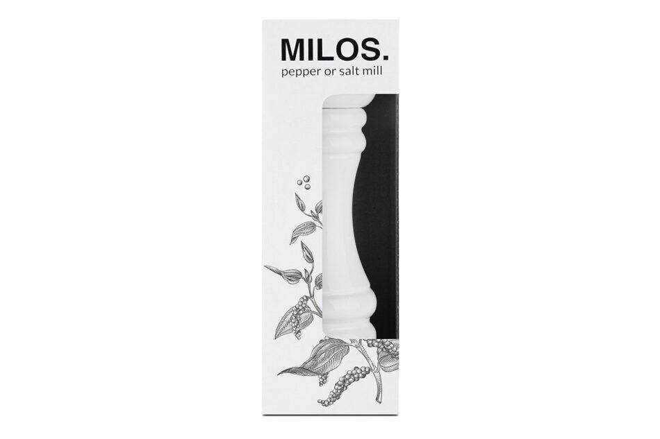 MILOS Młynek biały - zdjęcie 2