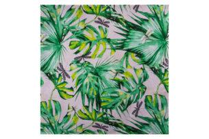 MONTERI, https://konsimo.pl/kolekcja/monteri/ Serweta zielony/biały - zdjęcie