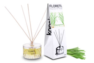 FLORETI, https://konsimo.pl/kolekcja/floreti/ Dyfuzor zapachowy trawa cytrynowa - zdjęcie