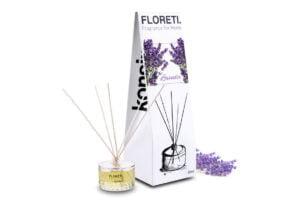 FLORETI, https://konsimo.pl/kolekcja/floreti/ Dyfuzor zapachowy lawenda - zdjęcie