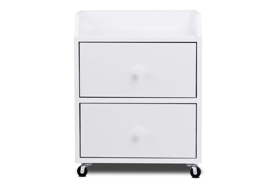 SCRIBI Szafka na kółkach pod biurko dla dzieci biała biały - zdjęcie 0
