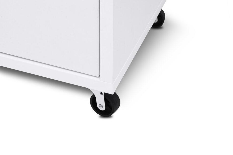 SCRIBI Szafka na kółkach pod biurko dla dzieci biała biały - zdjęcie 6