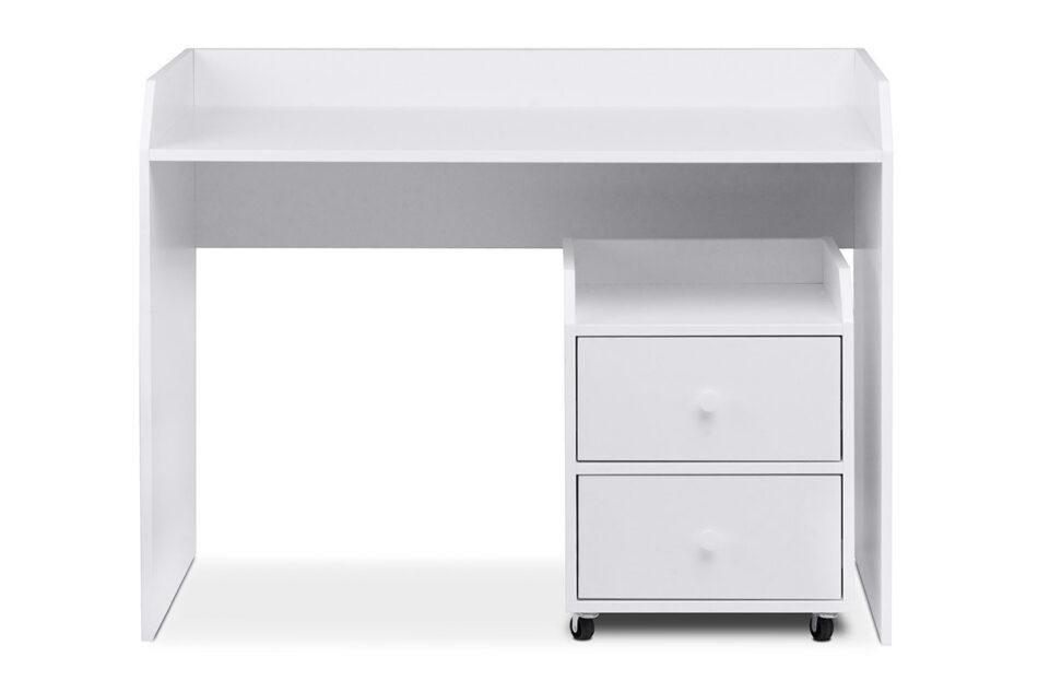 SCRIBI Szafka na kółkach pod biurko dla dzieci biała biały - zdjęcie 4