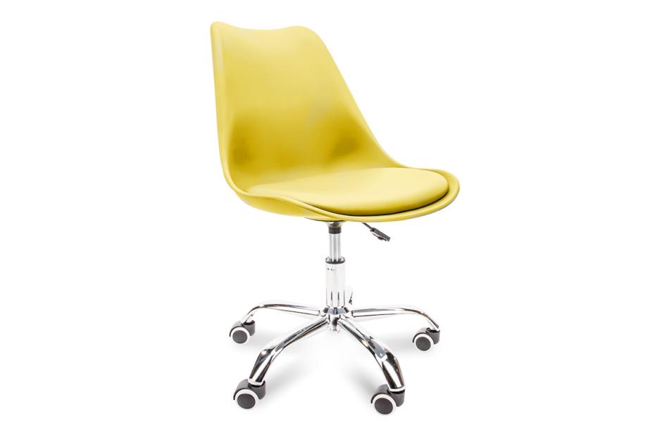 MOTUS Żółte krzesło obrotowe żółty - zdjęcie 0