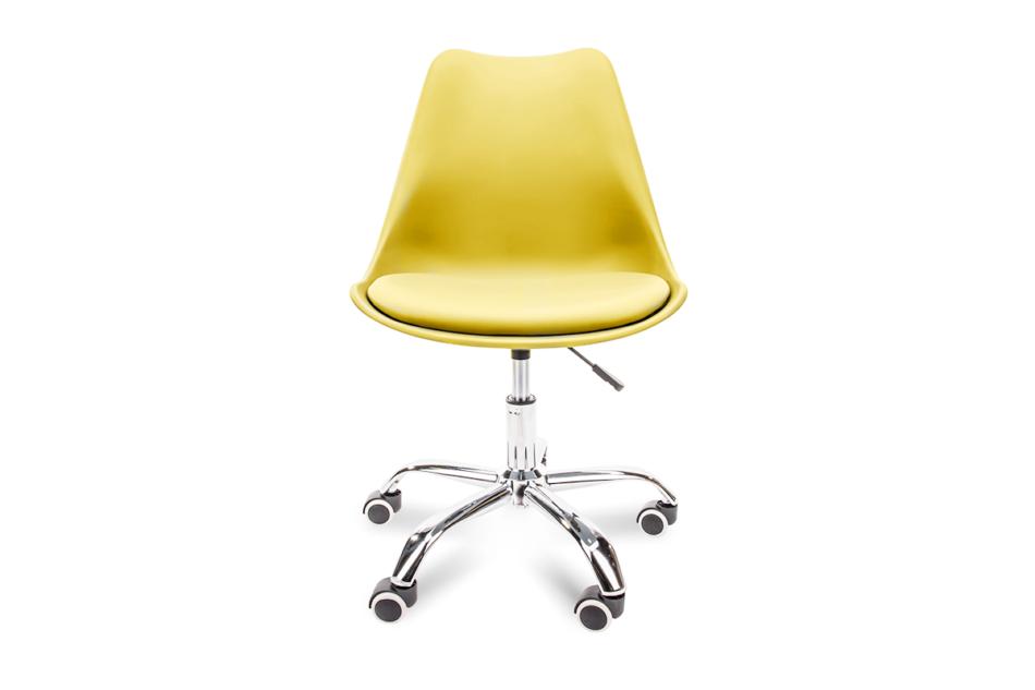 MOTUS Żółte krzesło obrotowe żółty - zdjęcie 1