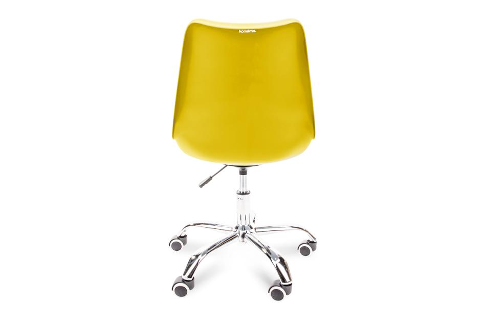 MOTUS Żółte krzesło obrotowe żółty - zdjęcie 4
