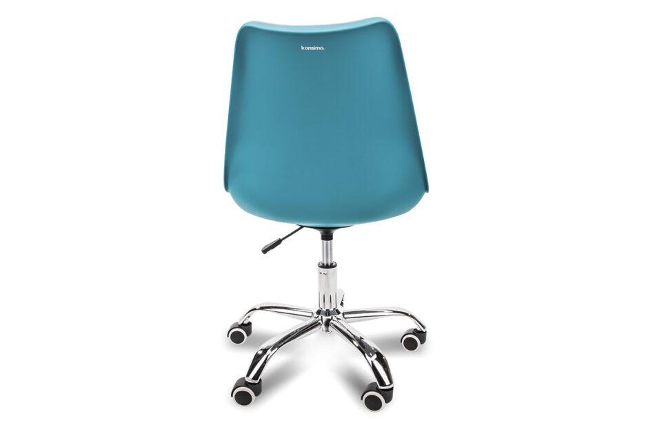 MOTUS Niebieskie krzesło obrotowe turkusowy - zdjęcie 4
