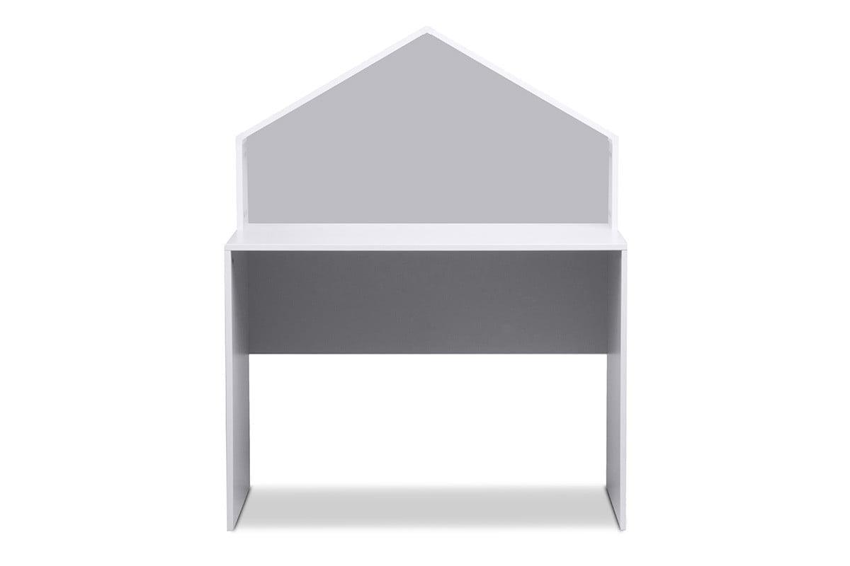 Biurko domek dla chłopca szare