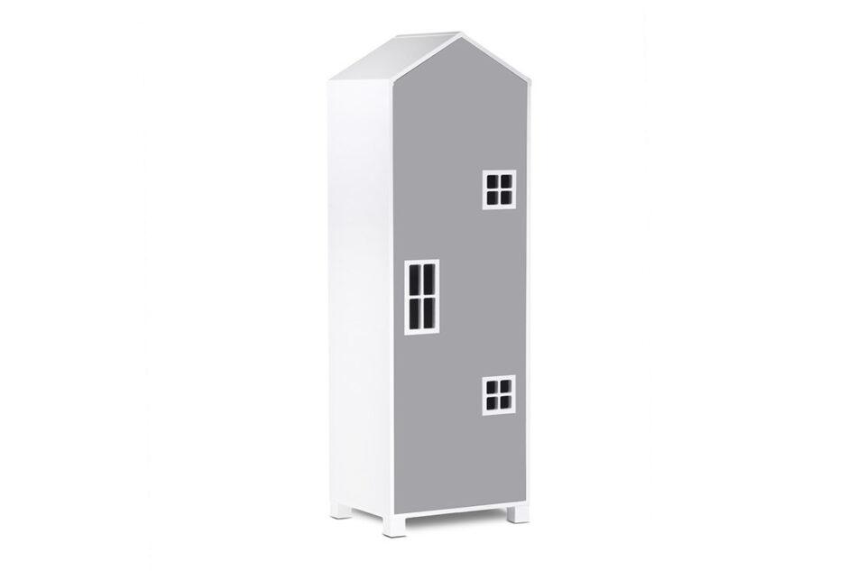 MIRUM Zestaw meble dla dziewczynki domki różowe 3 elementy biały/różowy/szary - zdjęcie 3