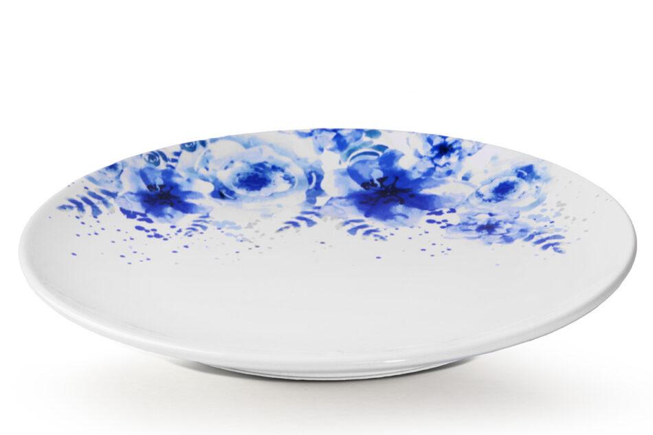GENTIA Zestaw obiadowy, 6 os. (18el.) biały/niebieski - zdjęcie 2