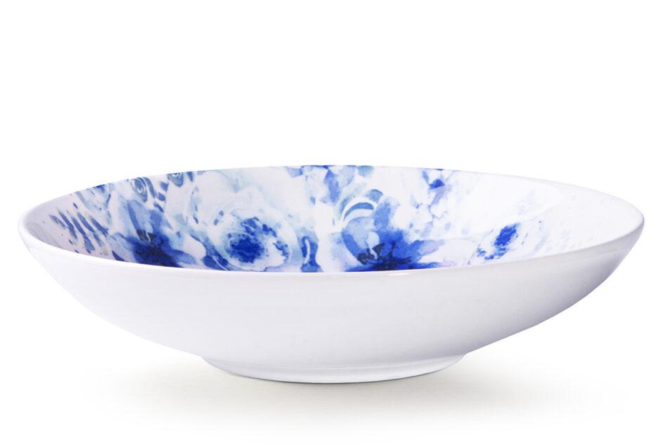 GENTIA Zestaw obiadowy, 6 os. (18el.) biały/niebieski - zdjęcie 4