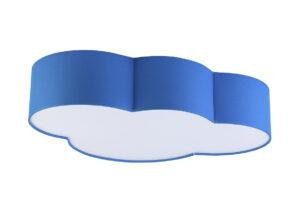 NUBIS, https://konsimo.pl/kolekcja/nubis/ Lampa wisząca niebieski - zdjęcie