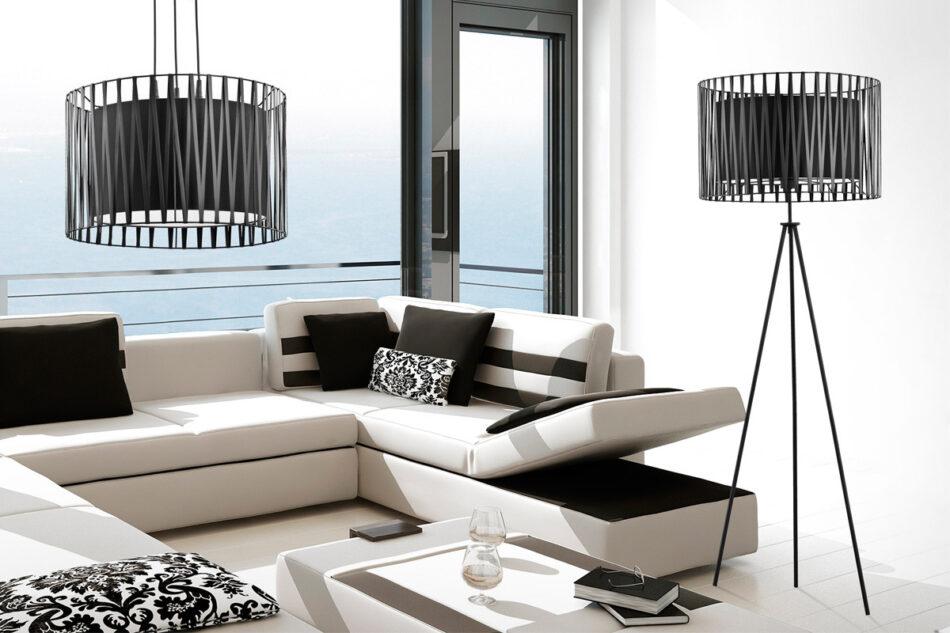 GRIDIO Lampa wisząca czarny - zdjęcie 1