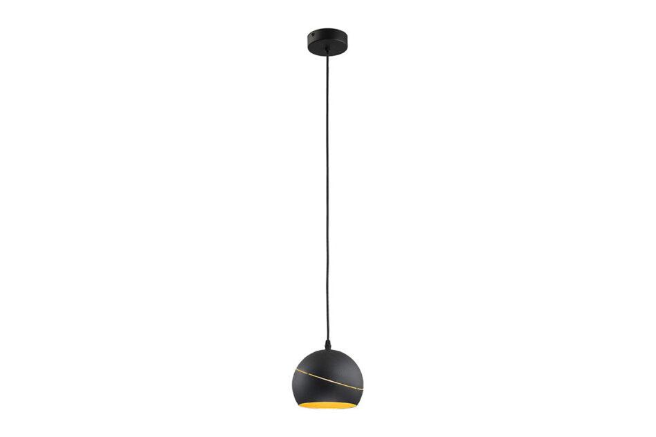 AURISO Lampa wisząca czarny/złoty - zdjęcie
