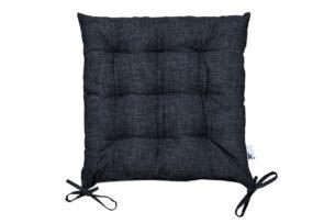NAPES, https://konsimo.pl/kolekcja/napes/ Poduszka na krzesło szary - zdjęcie