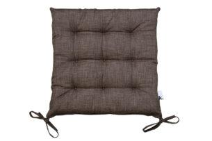 NAPES, https://konsimo.pl/kolekcja/napes/ Poduszka na krzesło brązowy - zdjęcie