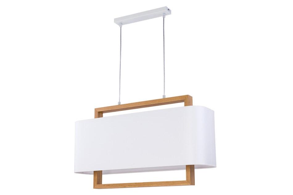 GALANTI Lampa wisząca biały/dąb - zdjęcie