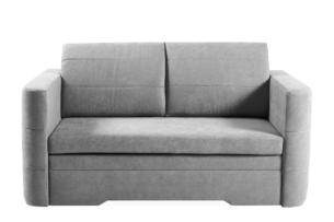 CODIS, https://konsimo.pl/kolekcja/codis/ Mała sofa 2 osobowa rozkładana szara szary - zdjęcie