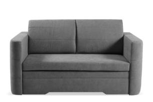 CODIS, https://konsimo.pl/kolekcja/codis/ Mała sofa 2 osobowa rozkładana ciemnoszara ciemny szary - zdjęcie