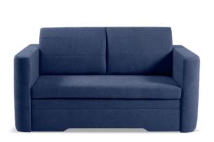 CODIS, https://konsimo.pl/kolekcja/codis/ Mała sofa 2 osobowa rozkładana granatowa niebieski - zdjęcie