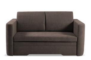CODIS, https://konsimo.pl/kolekcja/codis/ Mała sofa 2 osobowa rozkładana brązowa brązowy - zdjęcie
