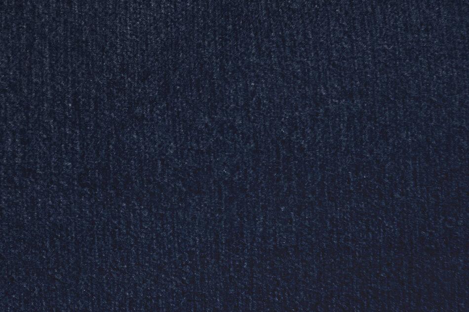 GANZO Sofa 3 osobowa do salonu z poduszkami niebieska granatowy/żółty - zdjęcie 5