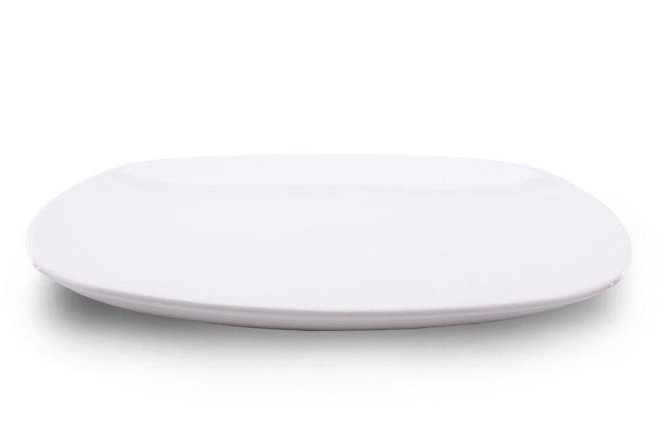 GRESI Nowoczesny zestaw obiadowy dla 12 osób biały biały - zdjęcie 5