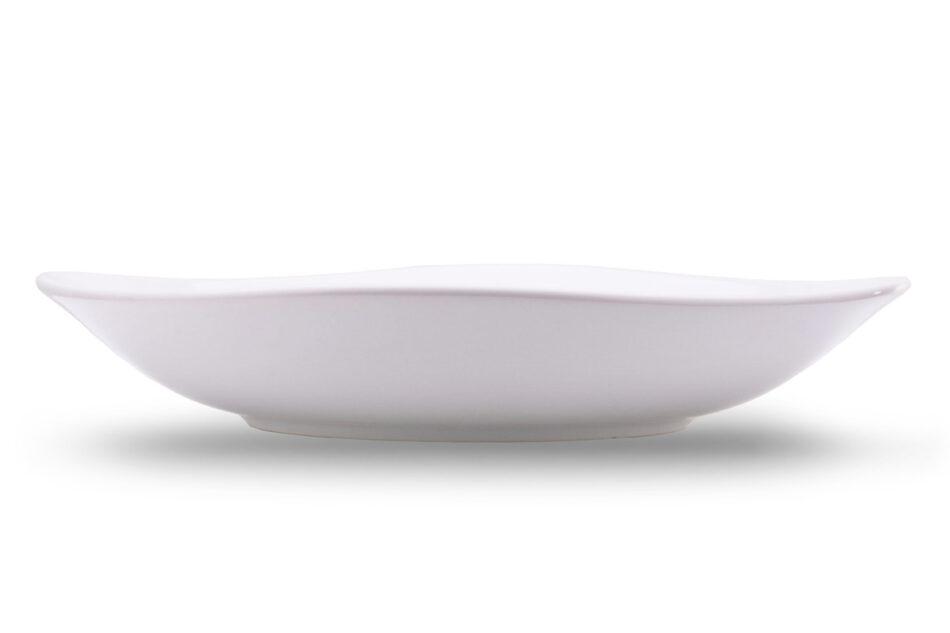 GRESI Nowoczesny zestaw obiadowy dla 4 osób biały biały - zdjęcie 7