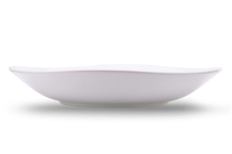GRESI Nowoczesny zestaw obiadowy dla 12 osób biały biały - zdjęcie 3