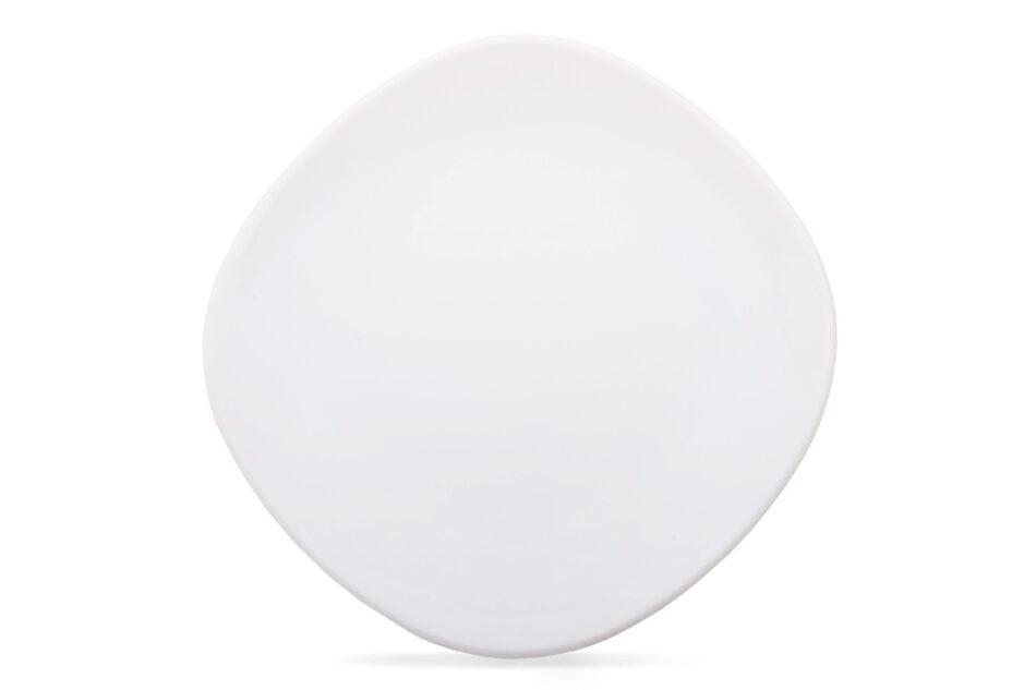 GRESI Nowoczesny zestaw obiadowy dla 4 osób biały biały - zdjęcie 4
